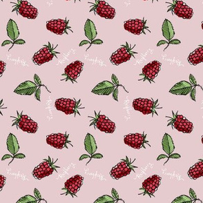 Raspberry - sideways