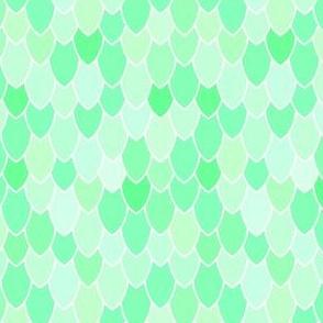 Mermaid Scales Mint