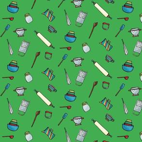 Kitchen Gadgets Green