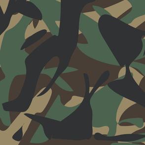 Woodland Camouflage pattern