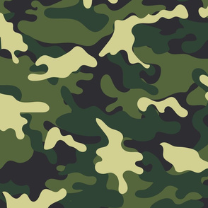 Green Camo pattern