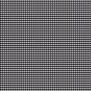Black, White & Grey Checks