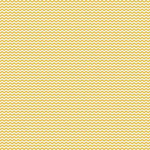Yellow and white chevron