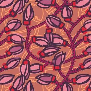 jade vine [pink hues]