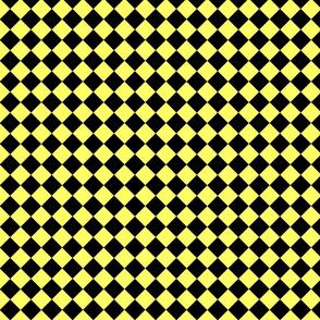 Diamonds - Black & Yellow