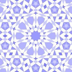 decagon stars : lavender