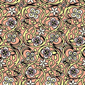 Wax Flower Garden - Honeysuckle/Coconut Cream