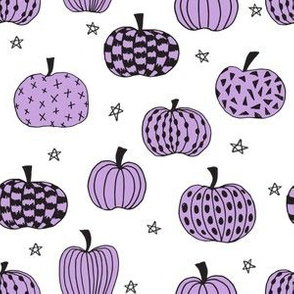 pumpkin // purple pumpkins purple design pumpkins kids october fall girls halloween fabric