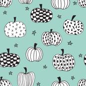 pumpkin // pumpkins halloween fall mint october kids halloween fabric for halloween projects kids