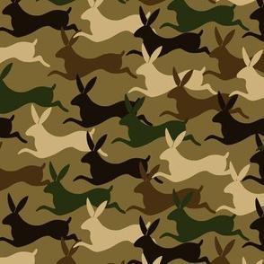 Rabbits camouflage