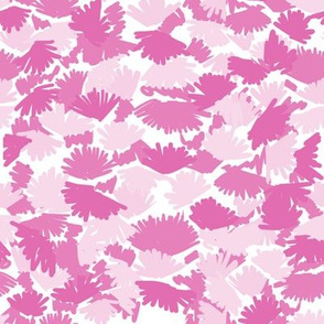 abstract pink camo girls kids pink leaves leaf abstract painted pattern