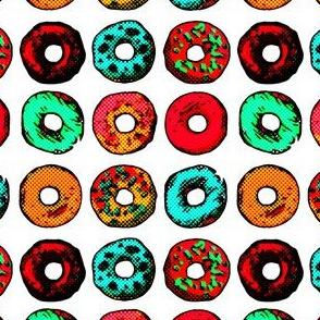Pop Art Donuts