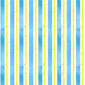 Provence Blue Yellow Stripe