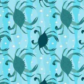 Crabs - Pale Aqua