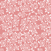 Roses and Scrolls - Pink Kitty Flavor Coordinate