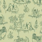 Walking Dead Toile - Green