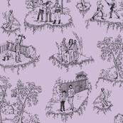 Walking Dead Toile - Purple