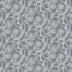 Sweet Paisley Gray