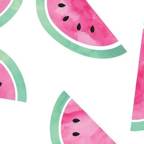 watercolor watermelon (jumbo)