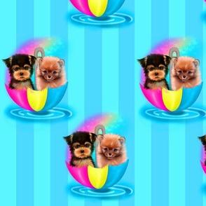 Umbrella Puppies
