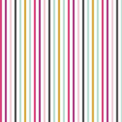 """Colorful Stripes Whimisical Binding 1/8"""" stripes"""