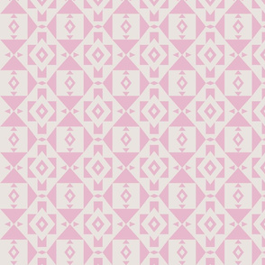 Southwest Pink Geometric