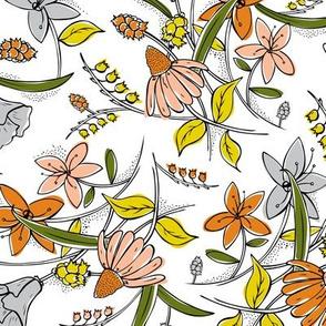 Isabella Floral Sketchbook