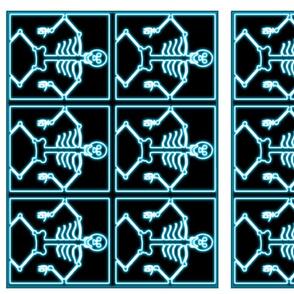 skeleton placemats
