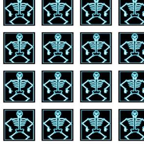 skeleton coasters