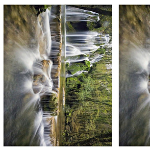"6 placemats  ""waterfalls"""
