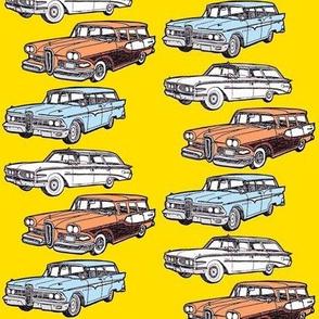 1958 1959 1960 Edsel Villager station wagons