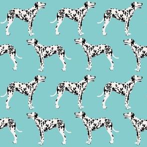dalmatian dog dogs blue cute pet dog fabric dalmatian fabric