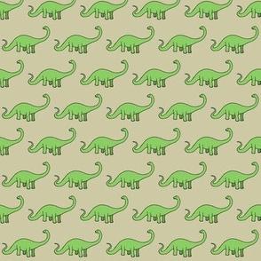 Happy Diplodocus - taupe