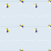 beach ball breton stripe ripples