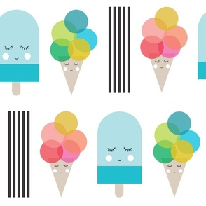 Ice Cream and Popsicles // Oversized