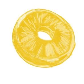 Pineapple Dots-Lg