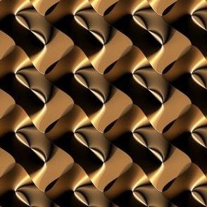 Bronze Black Weave Effect