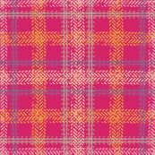 Bike Tread Plaid (pink)