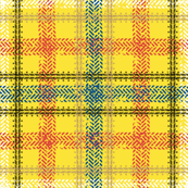 Bike Tread Plaid (yellow)