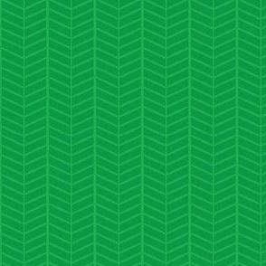 Emerald Herringbone Chevron
