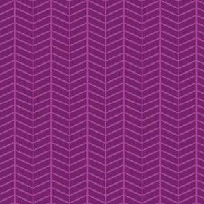 Grape Herringbone Chevron