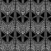 Geo Abstract Sketch in Black