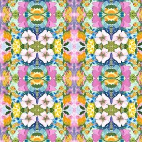 Watercolor Multi-color Floral-ed