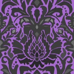 Aya damask lavender