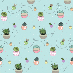 Plants and Polka Dots