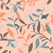 Mixed Tea Leaves (Peach)