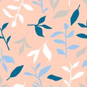 Tea Leaf Scatter (peach)