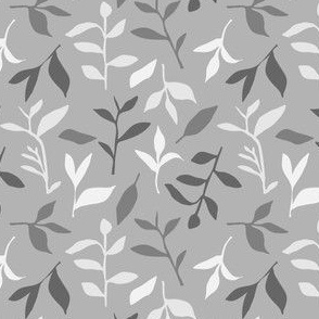 Tea Leaf Scatter (shades of grey)