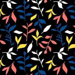 Tea Leaf Scatter (black)