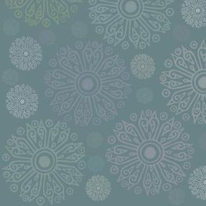 Mandalas in green